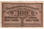 100 markas, banknote, 1918, Latvia, Lithuania, XF, VF, Ost, Kowno...
