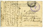 postcard, Russia, beginning of 20th cent., 14x8,8 cm...